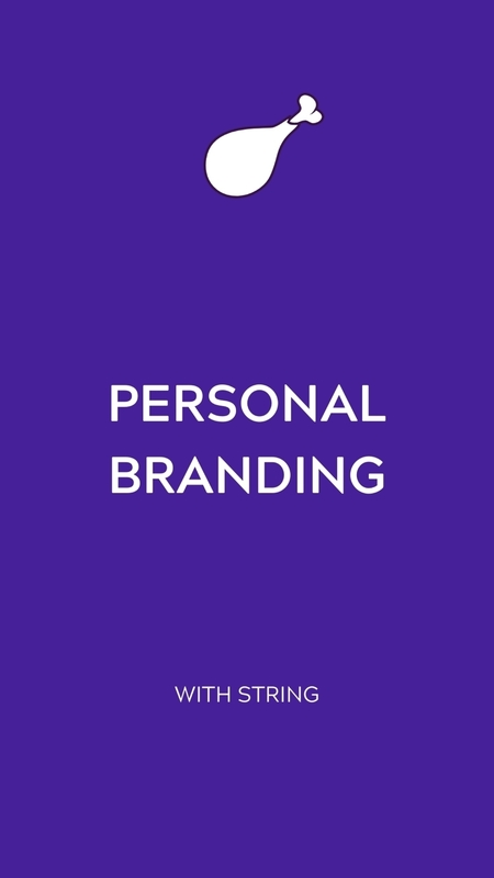 Personal Branding 🍗 It's your reputation online